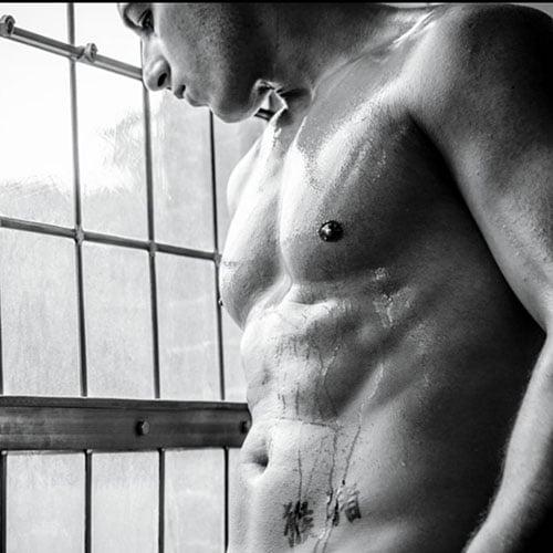 sexy mannelijke stripper Marco Toro