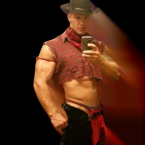 cowboy stripper Mike boeken