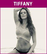 vrouwelijke stripper Tiffany