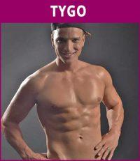 mannelijke stripper Tygo