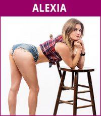 vrouwelijke stripper Alexia