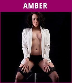vrouwelijke stripper Amber