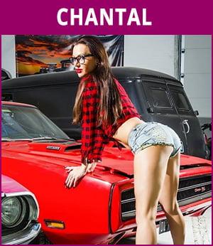 vrouwelijke stripper Chantal