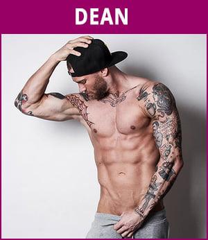 mannelijke stripper Dean