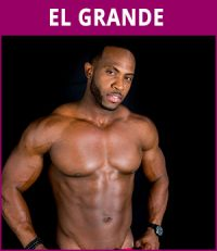 mannelijke stripper El Grande