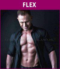 mannelijke stripper Flex