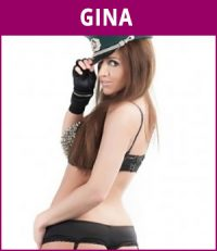 vrouwelijke stripper Gina