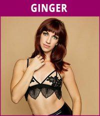 vrouwelijke stripper Ginger