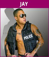 mannelijke stripper Jay