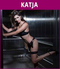 vrouwelijke stripper Katja