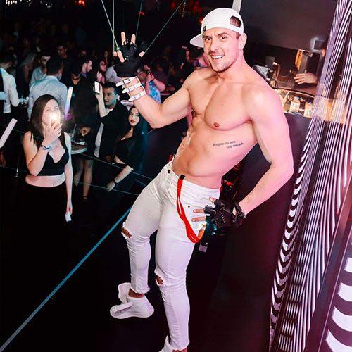 magic mike striptease show