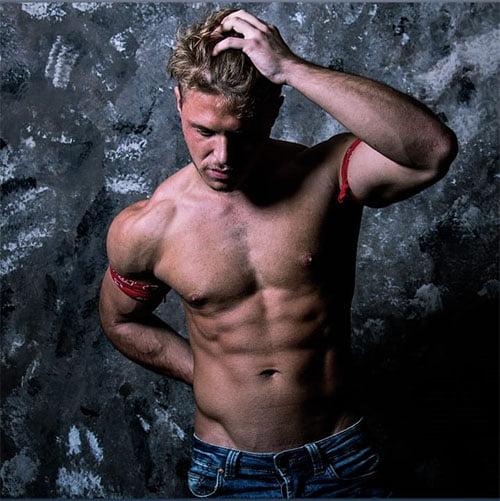 male stripper Ken