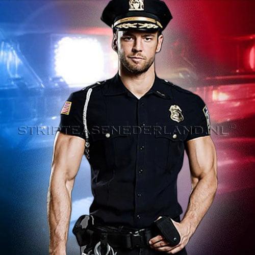 politie stripper