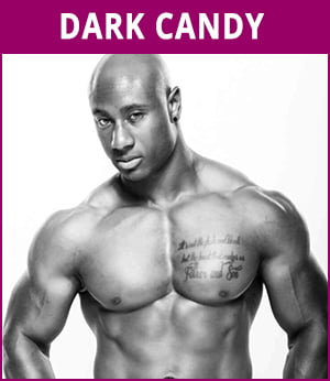 mannelijke stripper Dark Candy