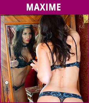 vrouwelijke stripper Maxime